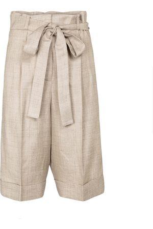 GABRIELA HEARST Bermudas Judy de lino, seda y lana