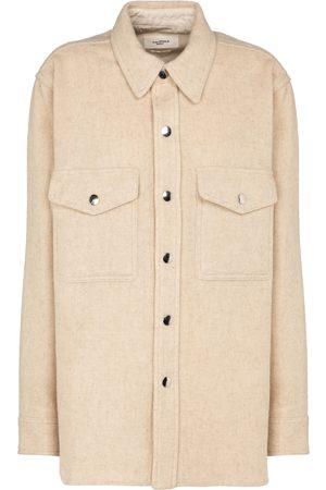 Isabel Marant, Étoile Camisa Faxon en mezcla de lana