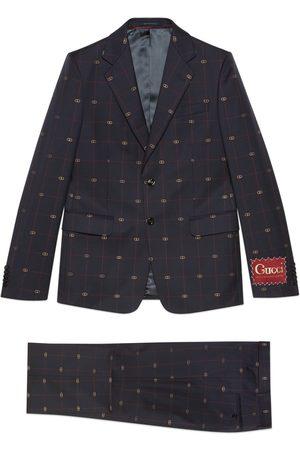 Gucci Hombre Trajes completos - Traje de lana con GG