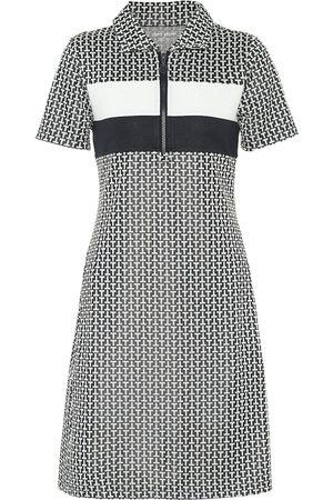 Tory Sport Mujer De punto - Vestido corto de punto de jacquard