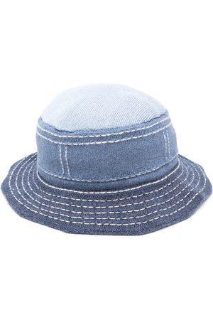 Barrie Sombrero de pescador con costuras en contraste
