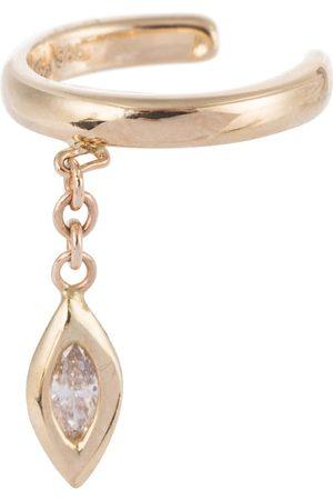 JACQUIE AICHE Ear cuff Marquise de oro amarillo de 14 ct con diamante