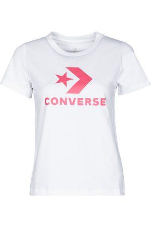 Converse Camiseta STAR CHEVRON CENTER FRONT TEE para mujer