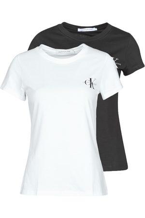 Calvin Klein Camiseta 2 PACK SLIM T-SHIRT para mujer