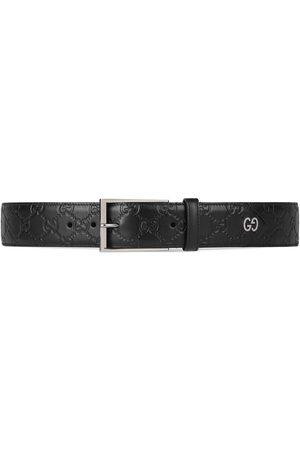 Gucci Hombre Cinturones - Cinturón Signature con detalle GG