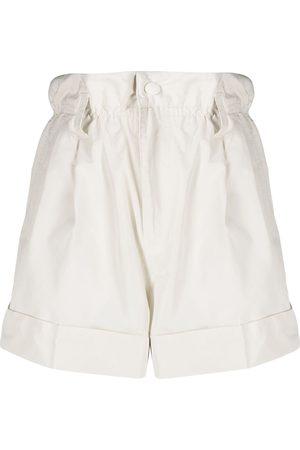 Moncler Shorts con cintura paperbag