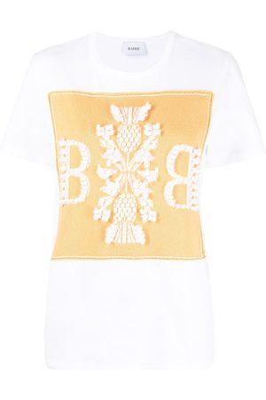 Barrie Camiseta con parche de cachemira