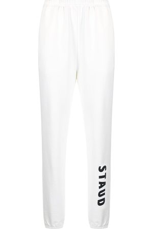 Staud Pantalones joggers con logo