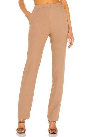 L'Academie Pantalón aubrey en color talla L en - Brown. Talla L (también en M, S, XL, XS, XXS).