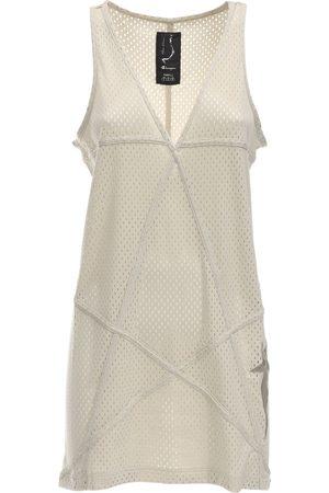 Rick Owens   Mujer Vestido Túnica De Malla De Jersey Con Cuello En V Xs
