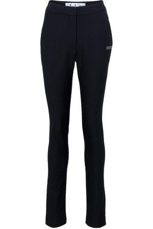 OFF-WHITE Pantalones skinny de punto fino