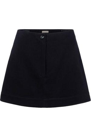 Alaïa Falda pantalón de algodón tiro alto