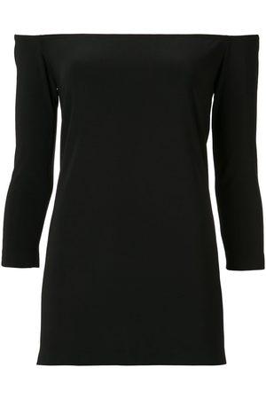 Norma Kamali Mujer Blusas - Blusa con hombros descubiertos