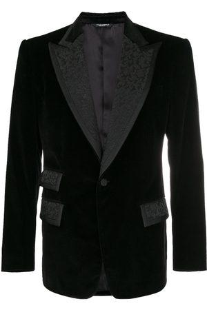 Dolce & Gabbana Hombre Blazers - Blazer formal con detalles bordados