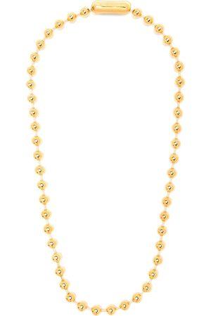 AMBUSH Collar con esferas en cadena