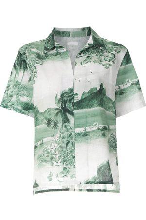 OSKLEN Camisa RJ estampada de manga corta