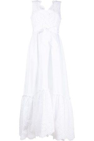 P.a.r.o.s.h. Mujer Vestidos - Vestido Cosan con bordado inglés