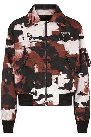 Dolce & Gabbana Hombre De entretiempo - Chaqueta con motivo militar