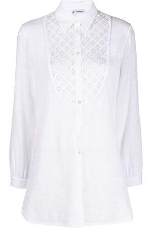La Perla Mujer Camisas - Camisa con detalles bordados