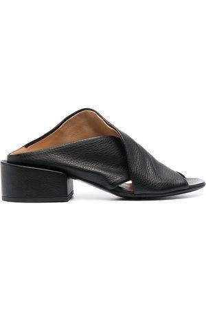 MARSÈLL Mujer Tacón - Zapatos de tacón bajo con puntera abierta