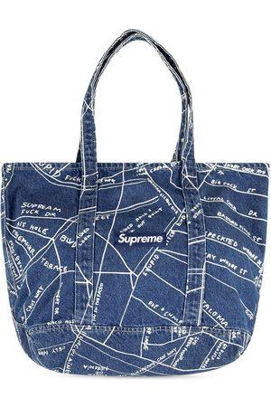 Supreme Bolso shopper vaquero Gonz Map