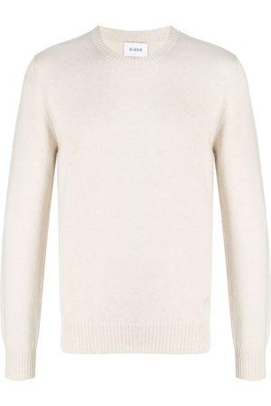 Barrie Hombre Jerséis y suéteres - Jersey de punto con logo bordado
