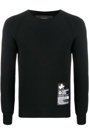 Dsquared2 Hombre Jerséis y suéteres - Jersey ajustado de manga larga