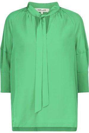Diane von Furstenberg Mujer Blusas - Blusa Lynn de crepé de seda