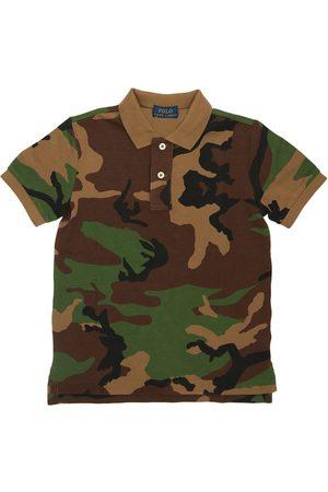 Ralph Lauren | Niño Camisa Polo Camuflaje De Algodón Piqué 18m/2a