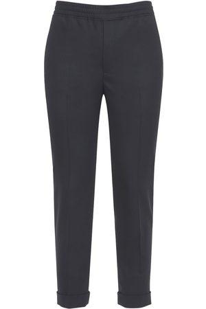 Neil Barrett Hombre Pantalones slim y skinny - | Hombre Pantalones Slim Fit De Mezcla De Lana 44