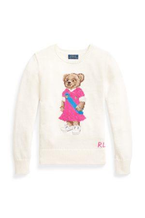Ralph Lauren Jersey de algodón con Polo Bear