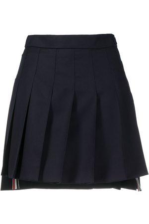 Thom Browne Minifalda plisada