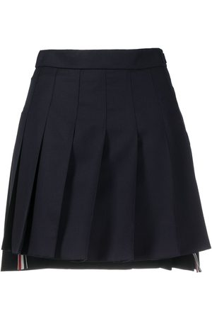 Thom Browne Mujer Minifaldas - Minifalda plisada