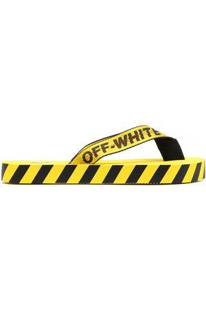 OFF-WHITE Chanclas con franja del logo