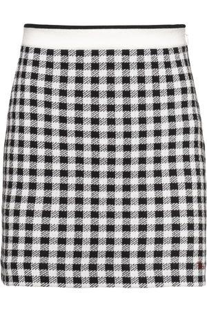 Miu Miu Minifalda a cuadros