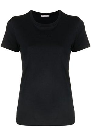 Moncler Camiseta con logo bordado