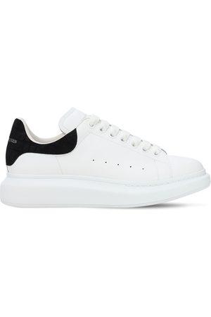 Alexander McQueen | Hombre Sneakers De Piel Con Plataforma 45mm /negro 39