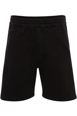Alexander McQueen | Hombre Pantalones Cortos De Algodón Con Cinta Con Logo Xs