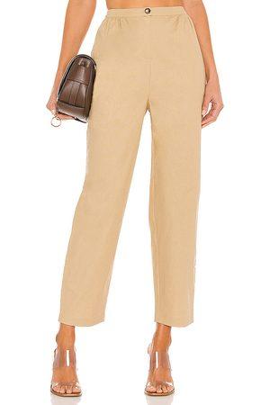 House of Harlow Mujer Pantalones de vestir - Pantalón sahara en color bronce talla S en - Tan. Talla S (también en XS).