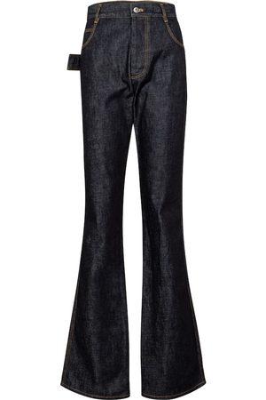 Bottega Veneta Jeans flared de tiro alto