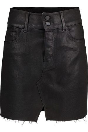 GRLFRND Minifalda de jeans Evie