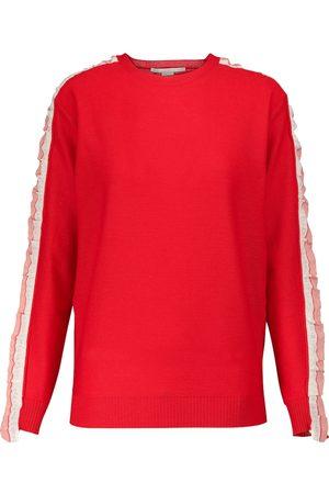 Stella McCartney Mujer Jerséis y suéteres - Jersey Monogram de lana y seda