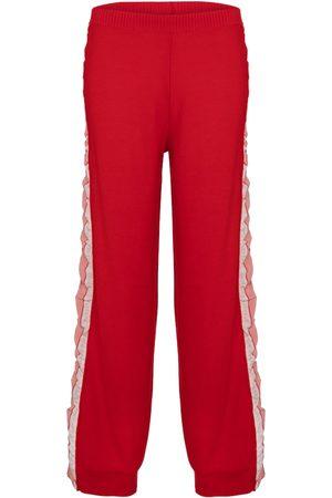 Stella McCartney Pantalones de lana y seda