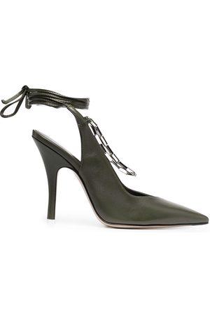 The Attico Mujer Tacón - Zapatos de tacón Venus con tira trasera