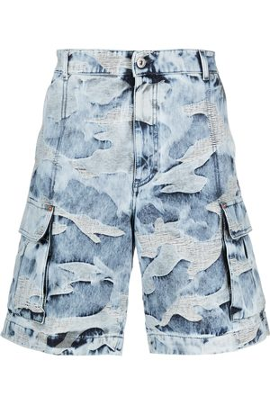 VALENTINO Camouflage-pattern bermuda shorts
