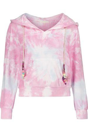 LOVESHACKFANCY Sudadera Kirby de algodón tie-dye