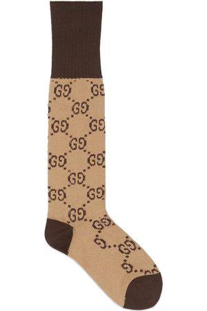 Gucci Hombre Calcetines - Calcetines con motivo de G entrelazada