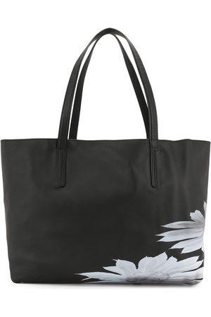 YOHJI YAMAMOTO Bolso shopper con detalle floral