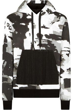 Dolce & Gabbana Sudadera con capucha y motivo militar