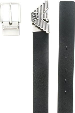 Emporio Armani Cinturón con hebilla del logo